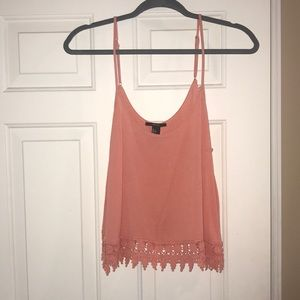 Salmon Color Summer Top